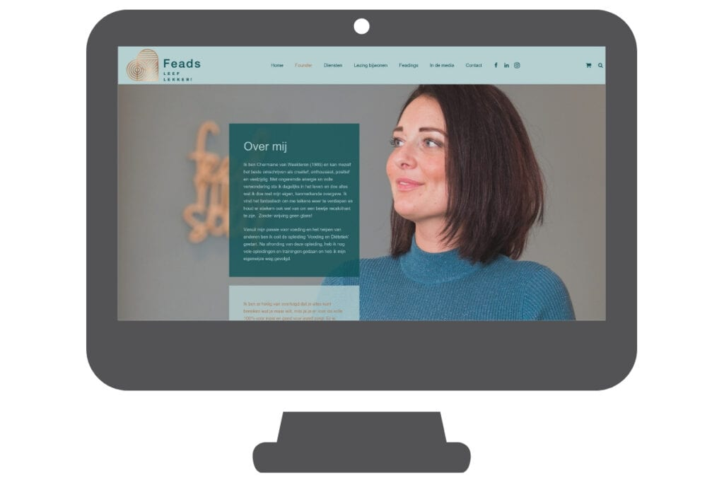 Feads - WordPress website