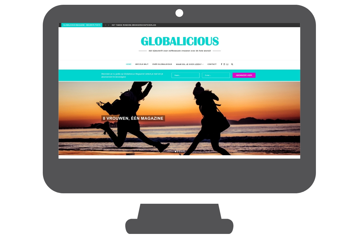 Globalicious - WordPress website