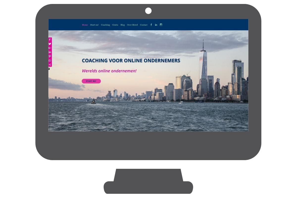Merel Westenberg - WordPress website