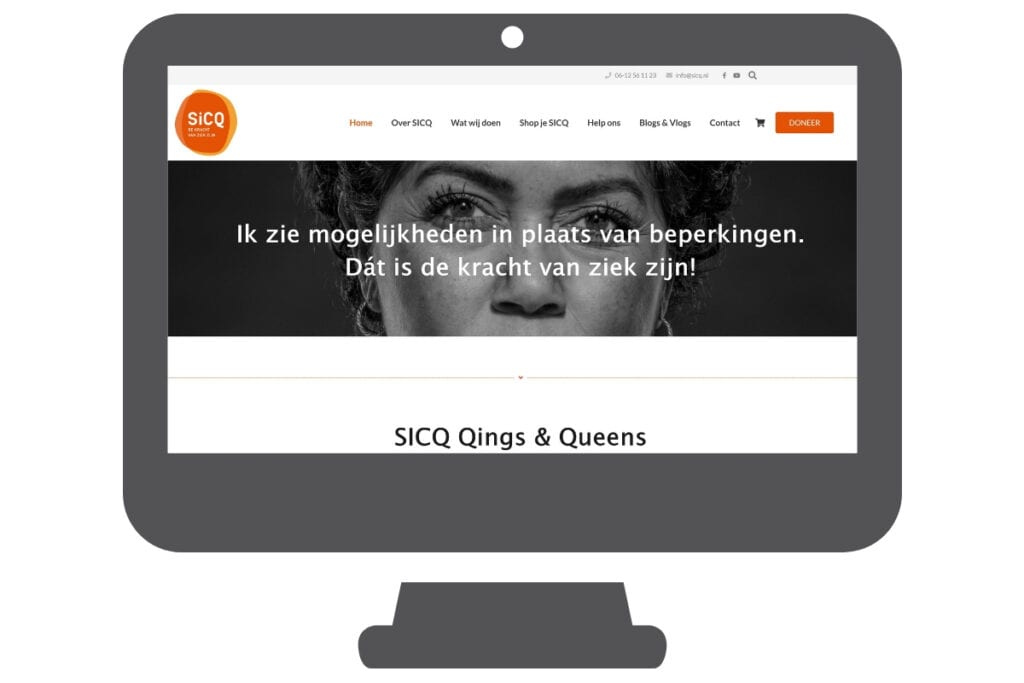 Sicq - WordPress website