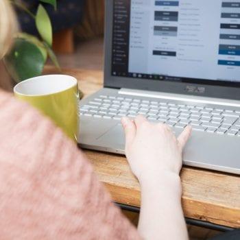 Met wordpress je website maken