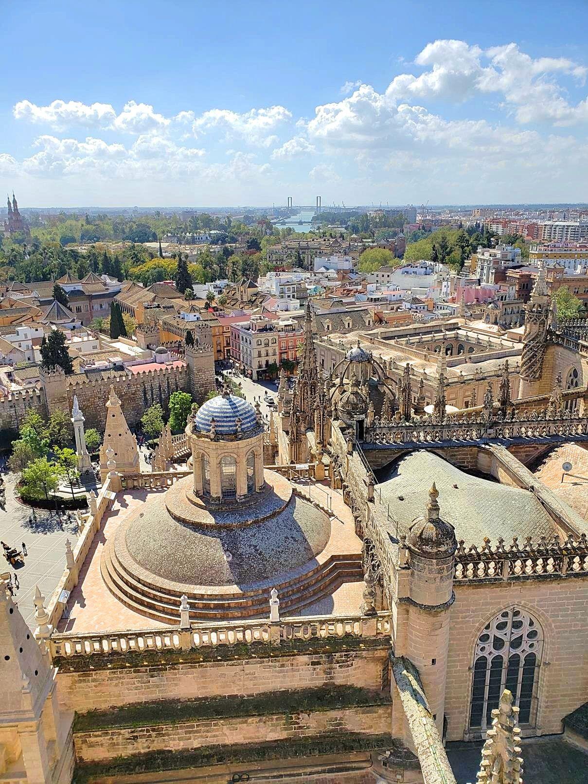 Vakantie als zelfstandig ondernemer - Sevilla