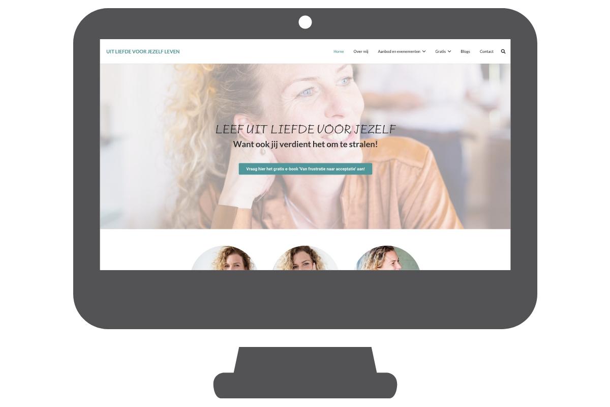 Website voorbeeld coach
