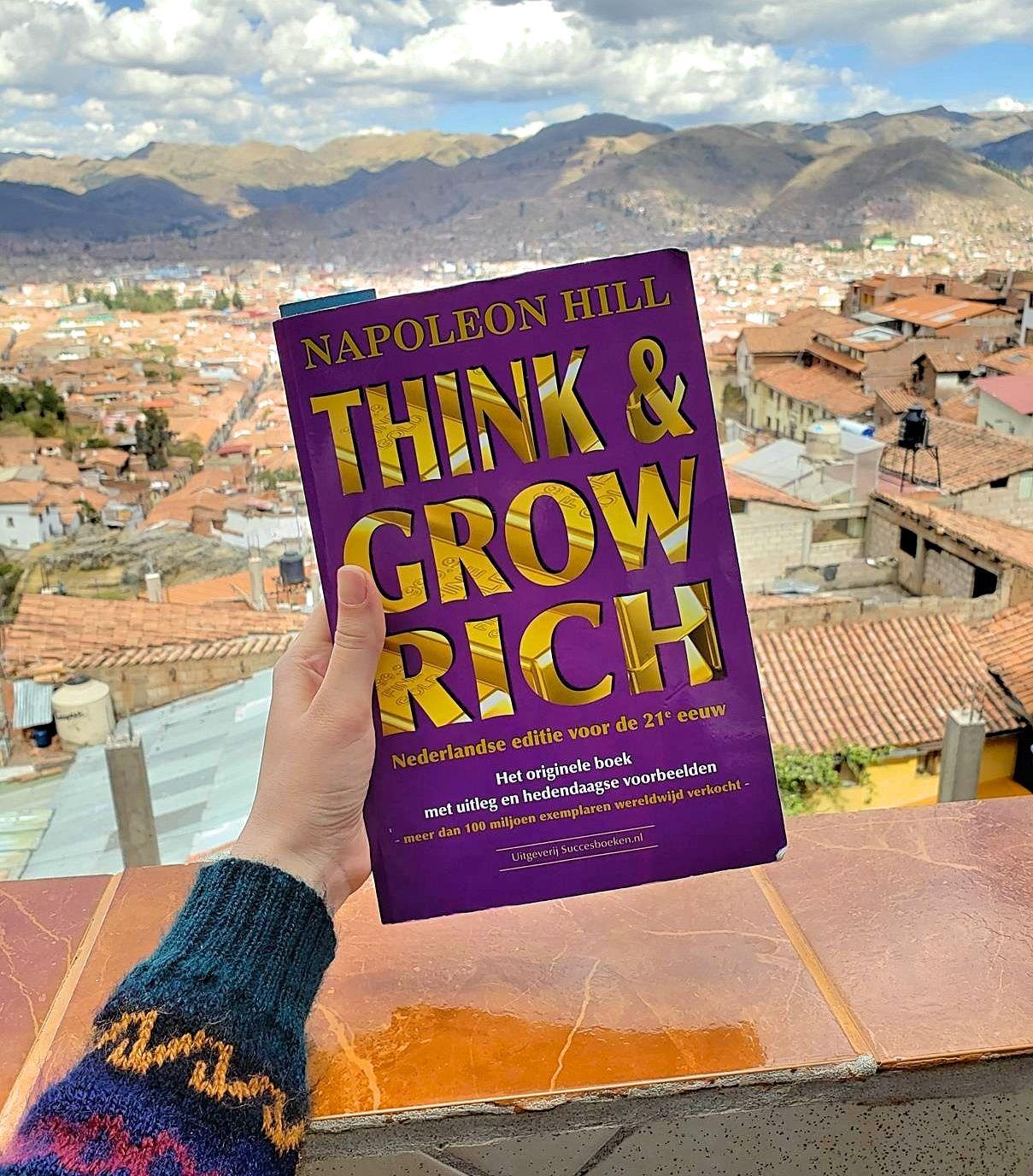 Boekentip voor ondernemers think and grow rich napoleon hill