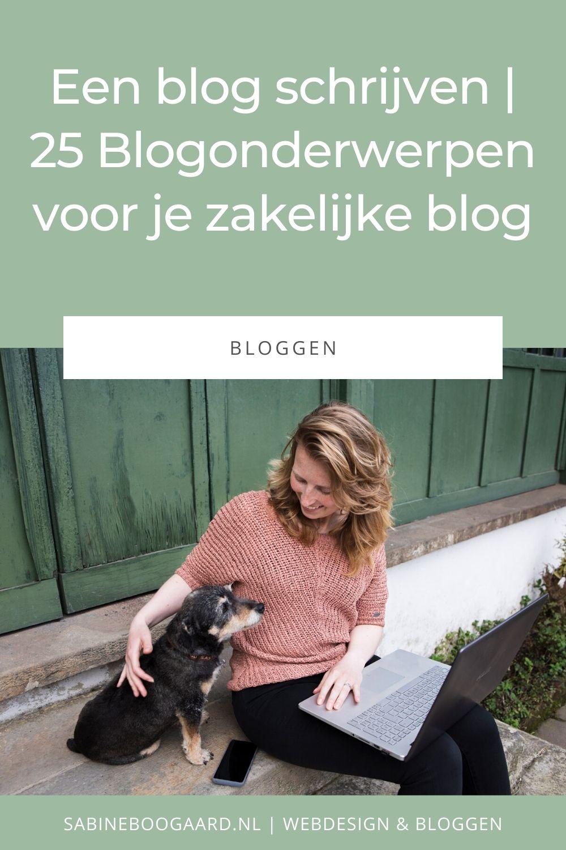 25 Blogonderwerpen voor je zakelijke blog