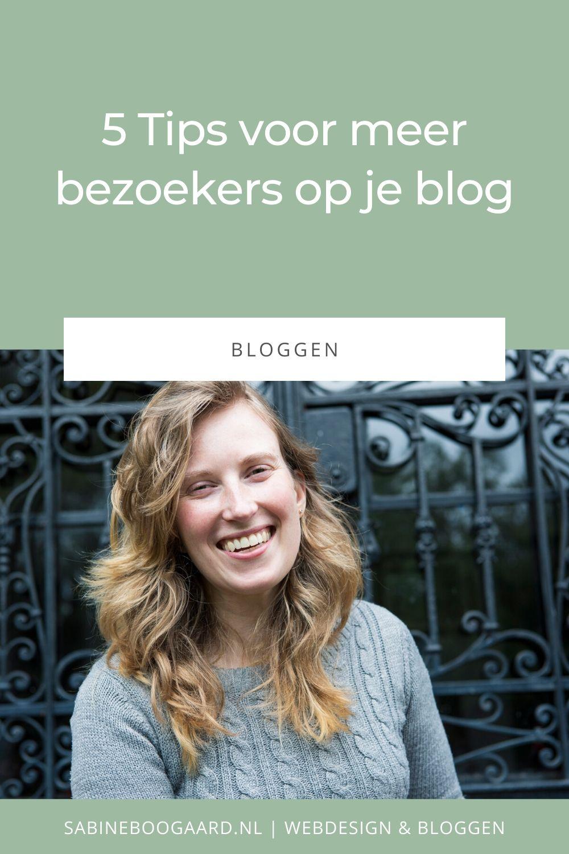 5 Tips voor meer bezoekers op je blog