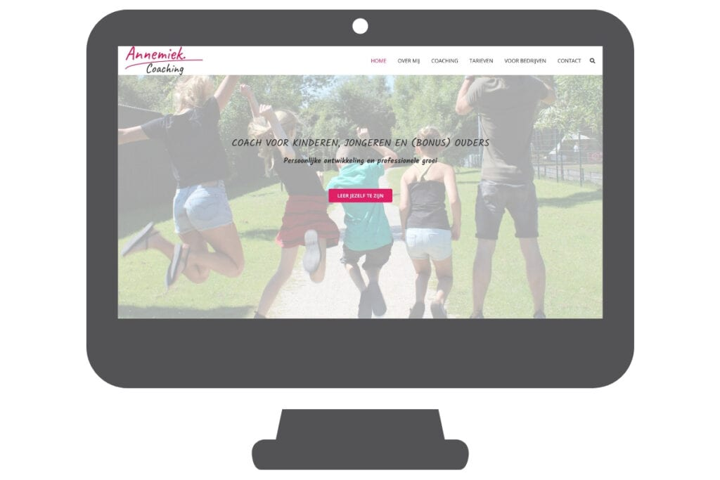 Annemiek coaching wordpress website
