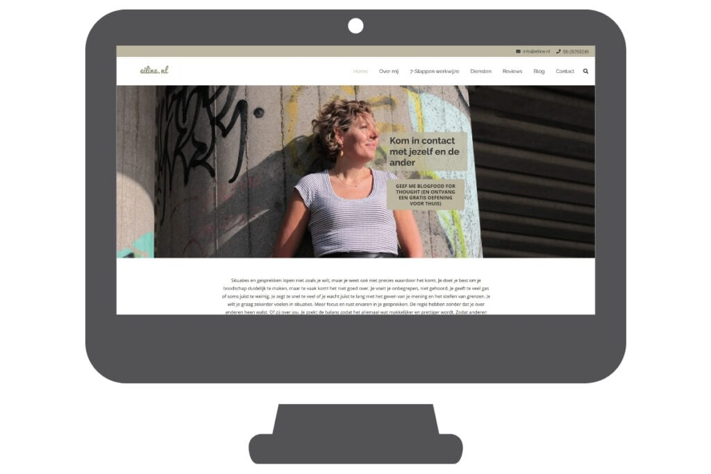 Eiline nl wordpress website