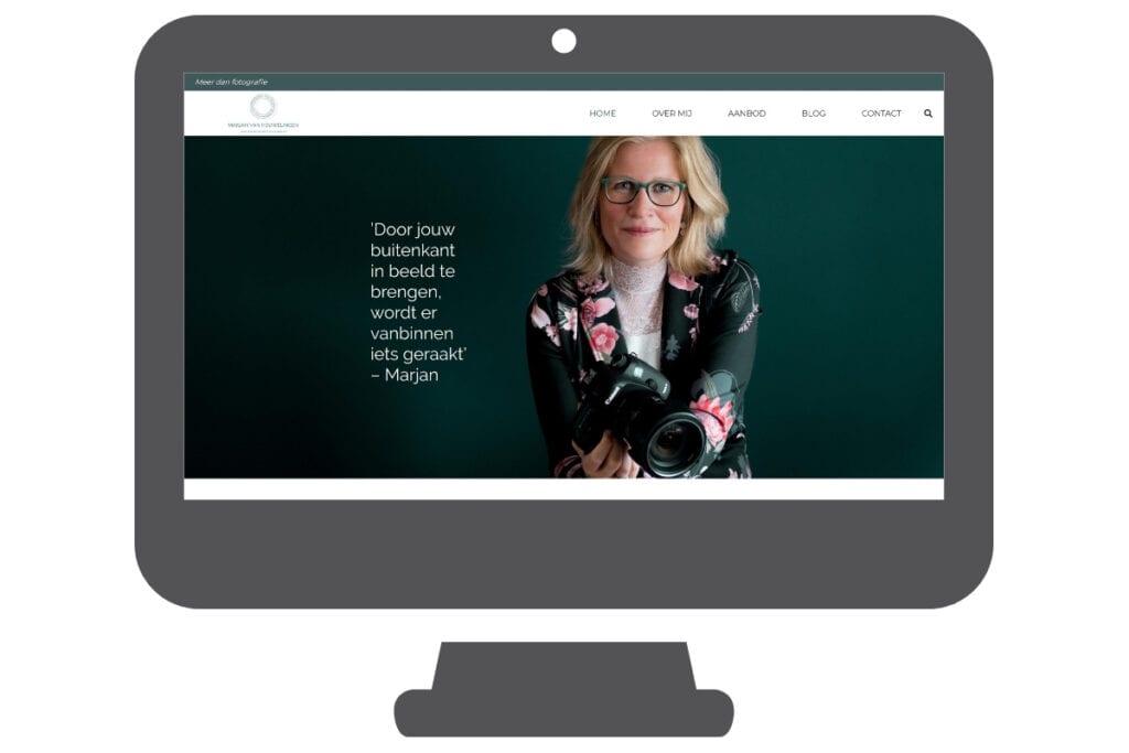 Fotograaf voor ondernemers wordpress website
