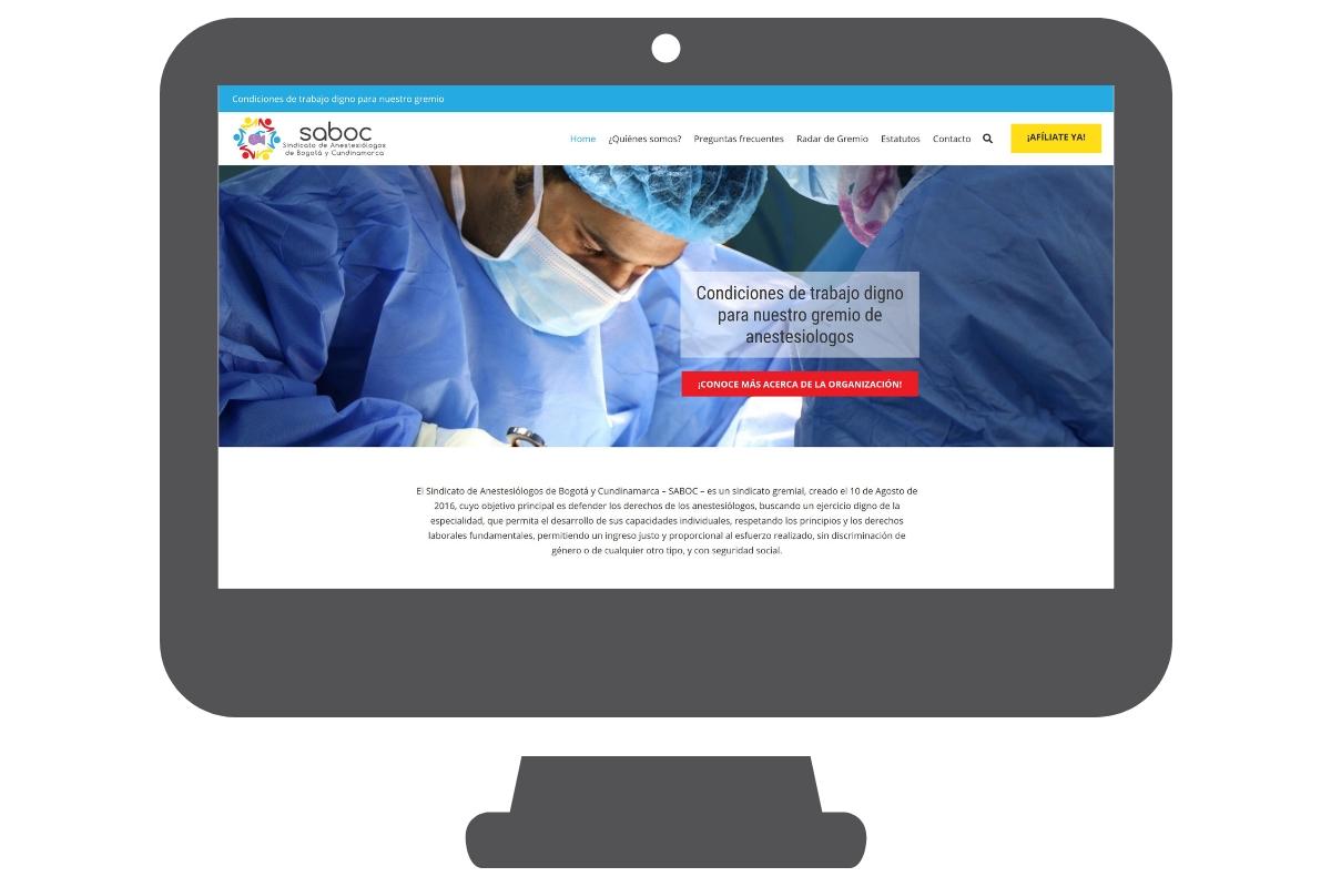 Website belangenvereniging Colombia