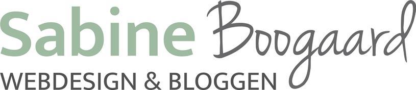 Sabine Boogaard webdesigner