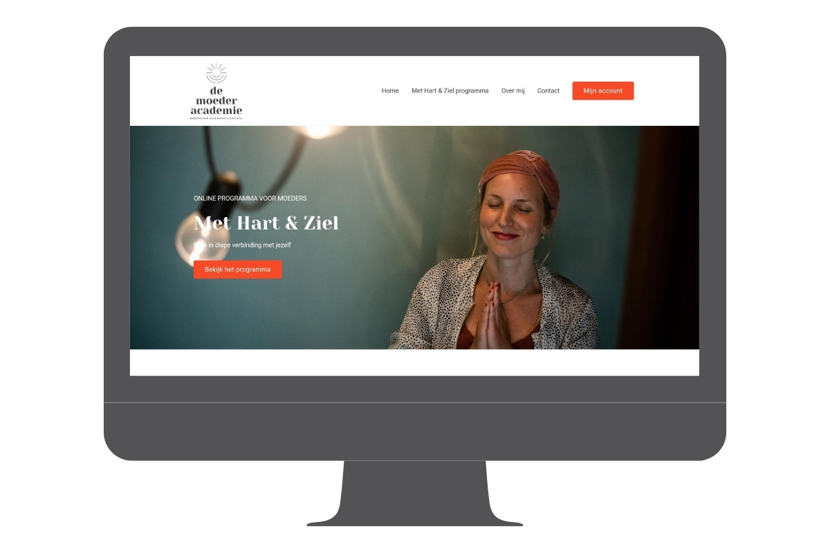 Online programma cursus omgeving - De Moederacademie