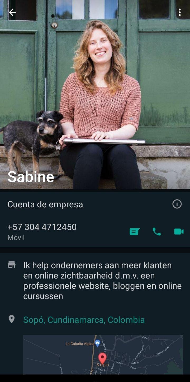 Zakelijk WhatsApp account maken