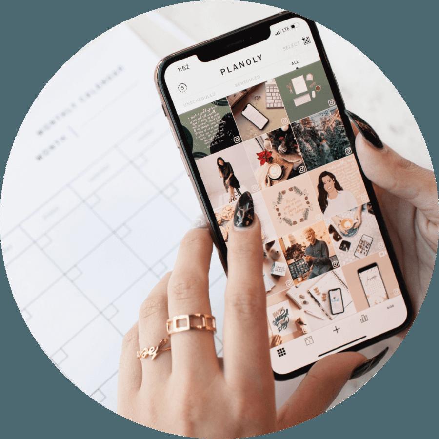 Instagram posts inplannen met Planoly