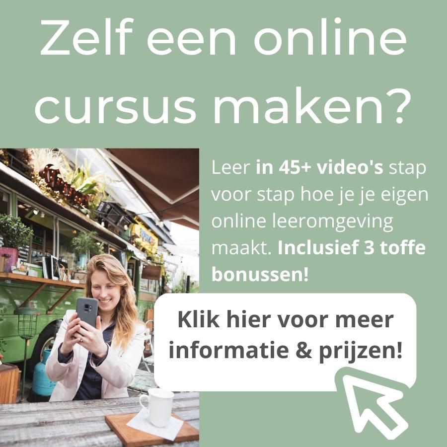 Videocursus je eigen online cursus maken