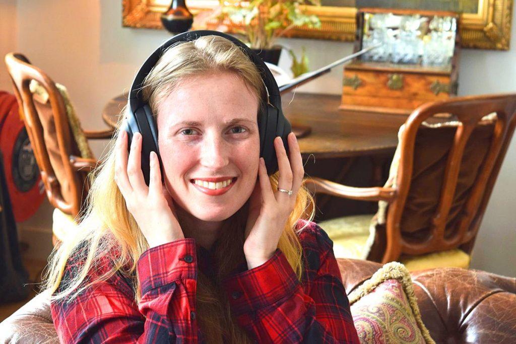 Draadloze koptelefoon met noise cancelling