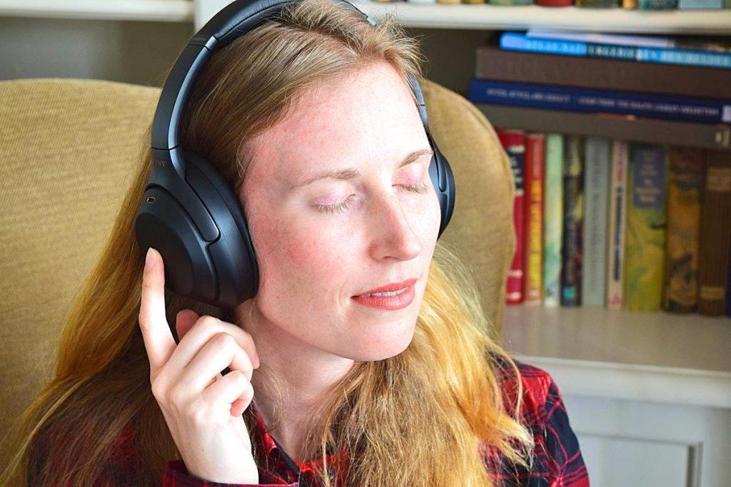 Noise cancelling koptelefoon Sony WH-1000XM3